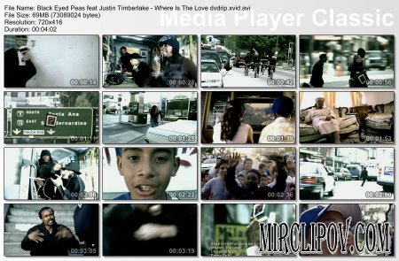 Black Eyed Peas Feat. Justin Timberlake - Where's The Love?
