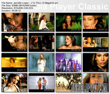 Jennifer Lopez - J To The L-O Megamix