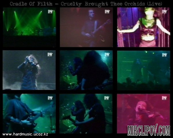 Cradle Of Filth - Cruelty Brought Thee Orchids (Live)