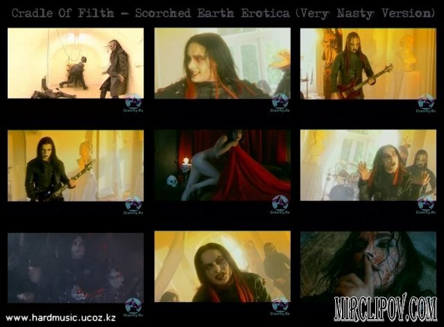 Cradle Of Filth - Scorched Earth Erotica (Very Nasty Version)