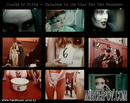 Cradle Of Filth - Babalon Ad (So Glad For The Madness)