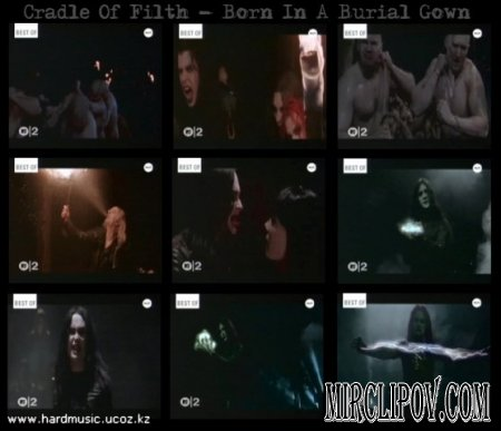 Cradle Of Filth - Born In A Burial Gown