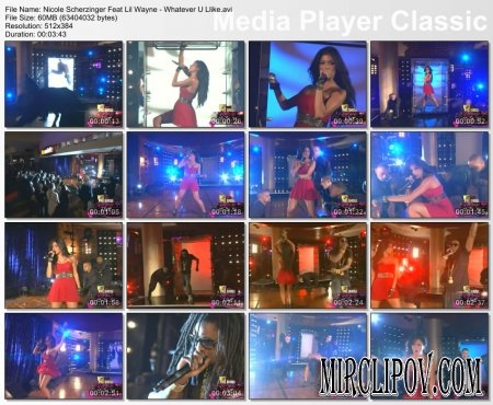 Nicole Scherzinger Feat. Lil Wayne - Whatever U Like (Live, MTV Music Awards, 2007)