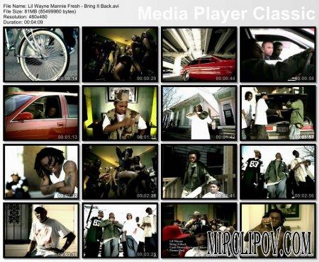 Lil Wayne Feat. Mannie Fresh - Bring It Back