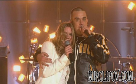 Robbie Williams & Joss Stone - Angels (Live)