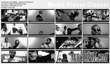 DJ Khaled Feat. Kanye West, Consequence, John Legend - Grammy Family