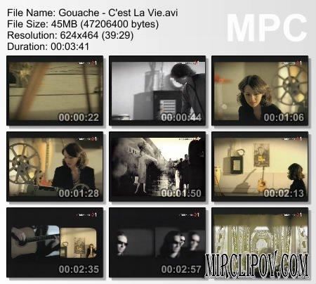 Gouache - C'est La Vie