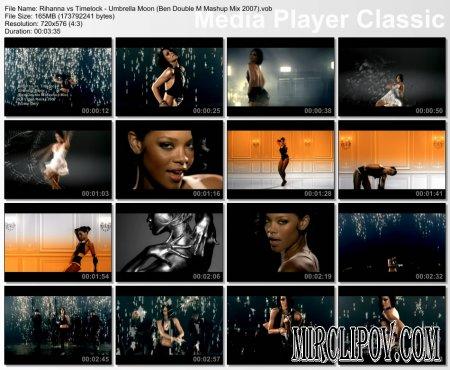 Rihanna vs. Timelock - Umbrella Moon (Ben Double M Mashup Mix)