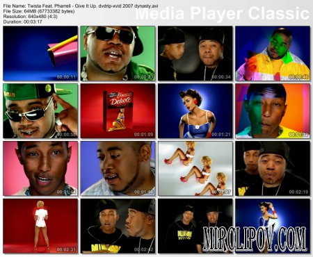 Twista Feat. Pharrell Williams - Give It Up