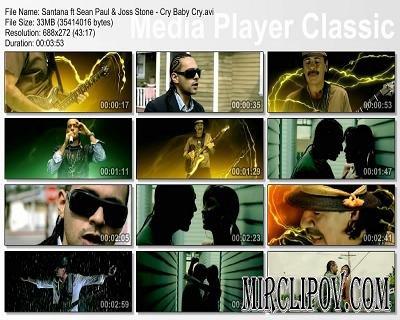 Santana & Sean Paul & Joss Stone - Cry Baby Cry