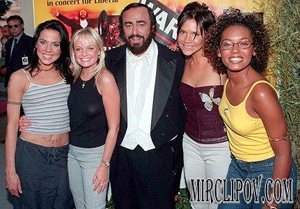 Spice Girls & Luciano Pavarotti - Viva forever (Live in Pavarotti & friends 98)