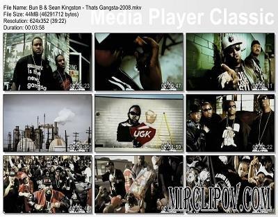 Bun B & Sean Kingston - Thats Gangsta