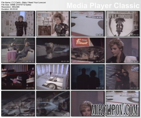 C.C.Catch - Baby I Need Your Love