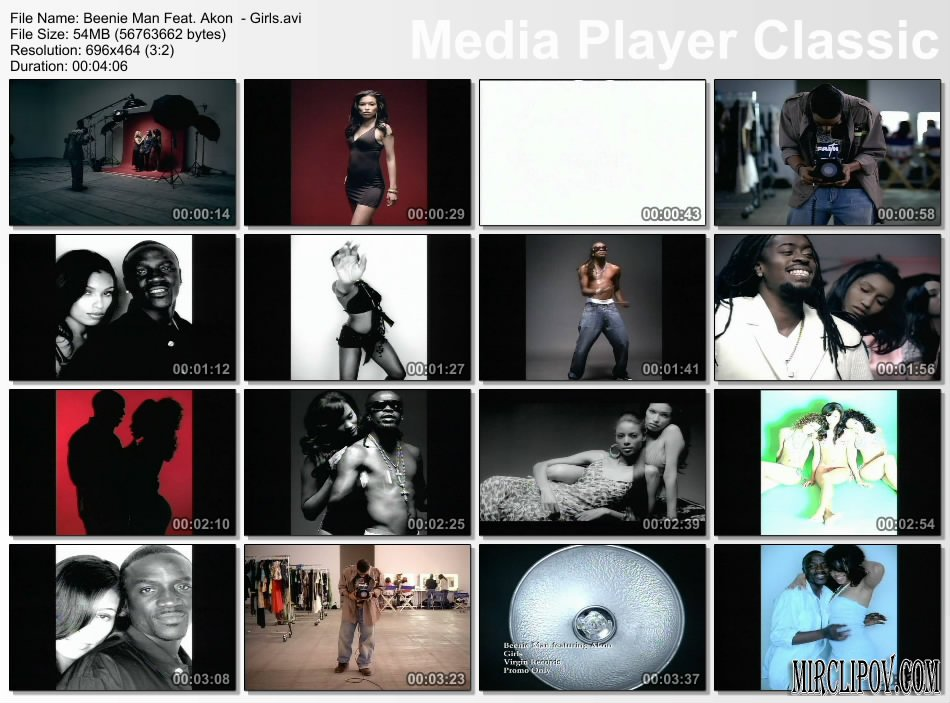 Beenie Man Feat. Akon - Girls