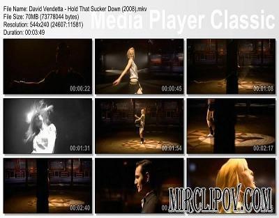 David Vendetta - Hold That Sucker Down (2008)