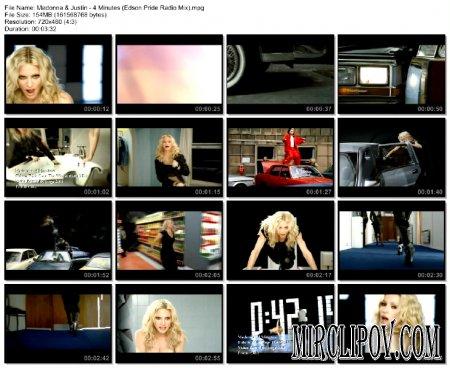 Madonna Feat. Justin Timberlake & Timbaland - 4 Minutes (Edson Pride Radio Mix)
