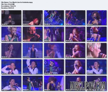 Spice Girls - Too Much (Live in Arnheim)
