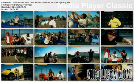 David Banner Feat. Chris Brown - Get Like Me