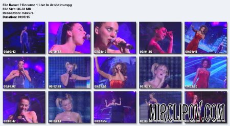 Spice Girls - 2 Become 1  (Live in Arnheim)