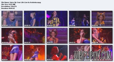 Spice Girls - Spice Up Your Life (Live in Arnheim)