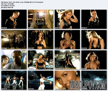 3LW feat. Loon & P.Diddy - I Do