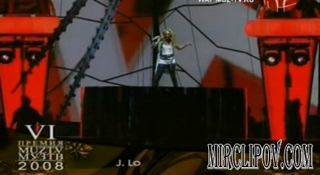Jennifer Lopez - Let's Get Loud (Live, Moscow, Muz-Tv, 06.06.08)