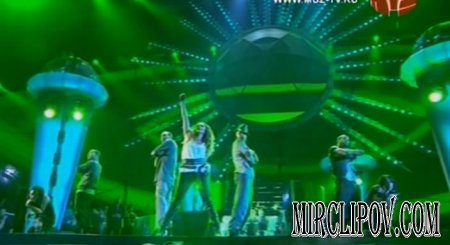 Jennifer Lopez - Medley & Get Right (Live, Moscow, Muz-Tv, 06.06.08)