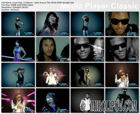 Lloyd Feat. Lil Wayne - Girls Around The World