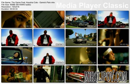 The Game Feat. Keyshia Cole - Game's Pain