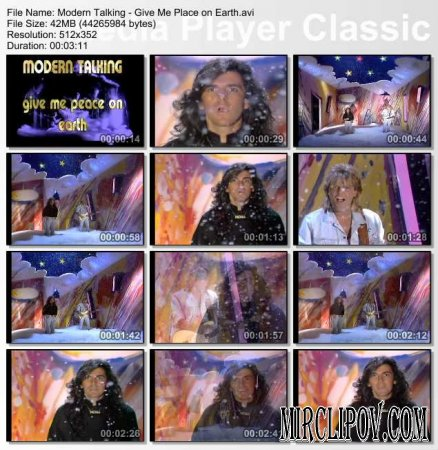 Modern Talking - Give Me Place on Earth