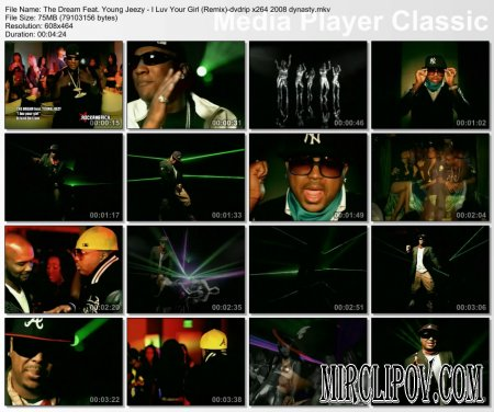 The Dream Feat. Young Jeezy - I Luv You Girl