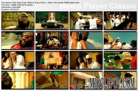 Rick Ross Feat. Nelly & Avery Storm - Here I Am