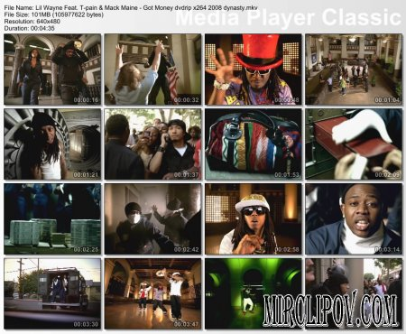 Lil Wayne Feat. T-Pain & Mack Maine - Got Money
