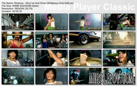 Rihanna - Shut Up And Drive (Wideboys Club Edit)
