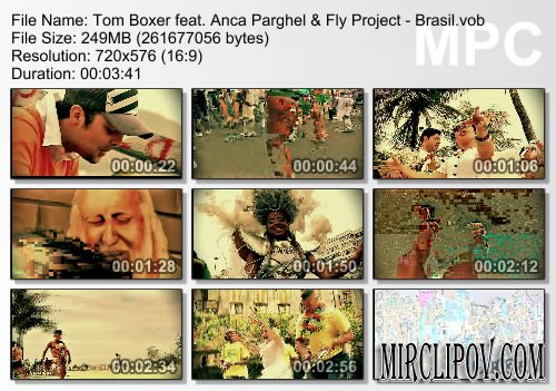 Tom Boxer feat. Anca Parghel & Fly Project - Brasil