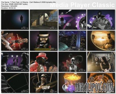 T-Pain Feat. Lil Wayne - Can't Believe It