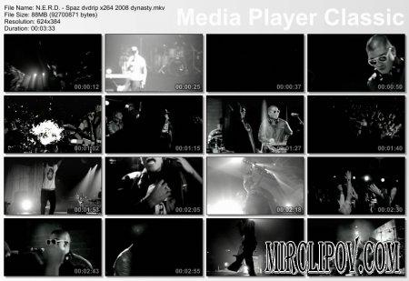 N.E.R.D. Feat. Pharrell Williams - Spaz