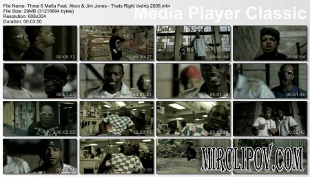 Three 6 Mafia Feat. Akon & Jim Jones - That's Right