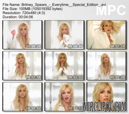 Britney Spears - Everytime (Special Edition)