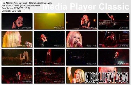Avril Lavigne - Complicated (live)