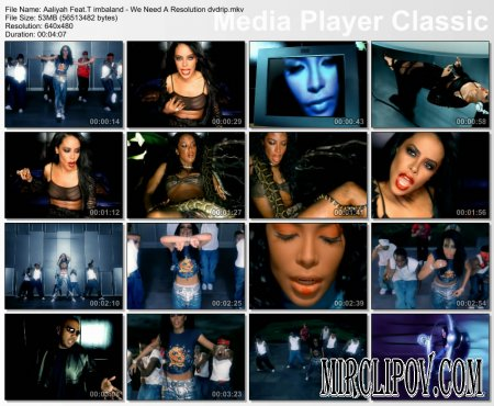 Aaliyah Feat. Timbaland - We Need A Resolution