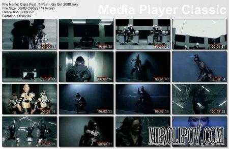 Ciara Feat. T-Pain - Go Girl