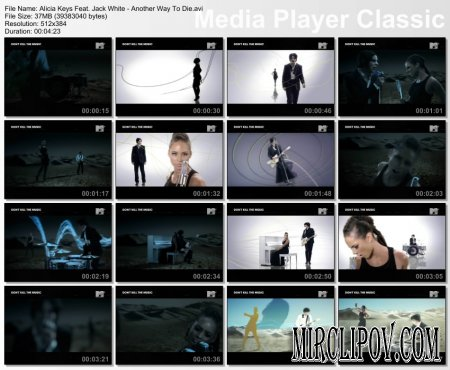 Alicia Keys Feat. Jack White - Another Way To Die