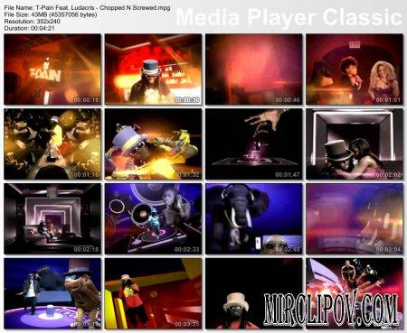 T-Pain Feat. Ludacris - Chopped N Screwed