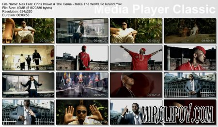 Nas Feat. Chris Brown & The Game - Make The World Go Round