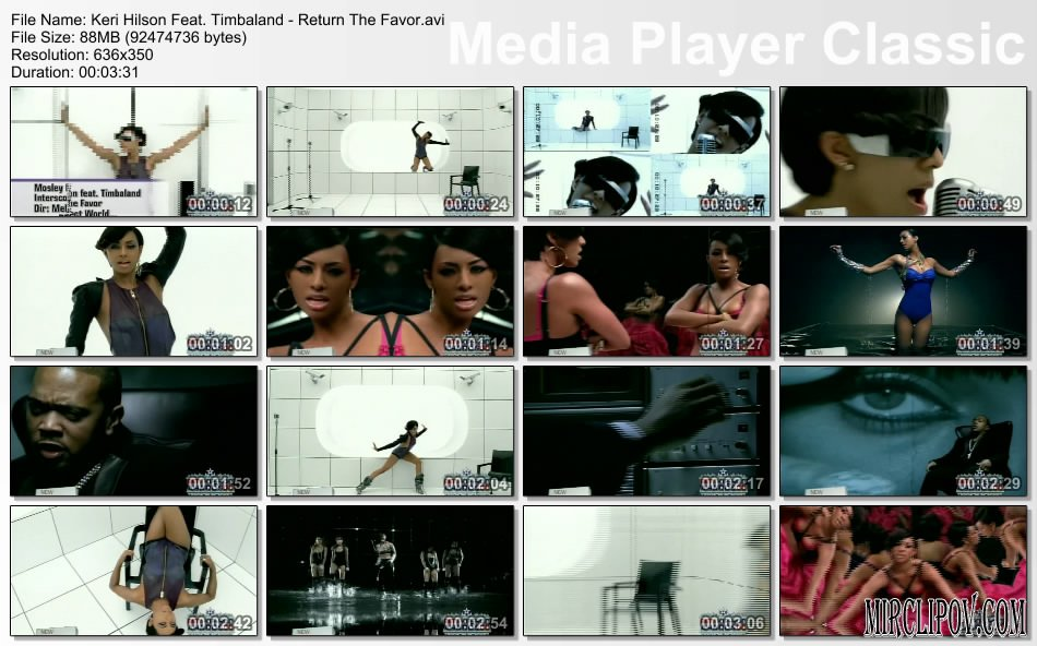 Keri Hilson Feat. Timbaland - Return The Favor