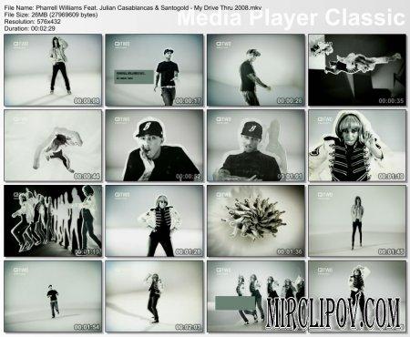 Pharrell Williams Feat. Julian Casablancas & Santogold - My Drive Thru