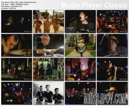 Blink 182 - Man Overboard