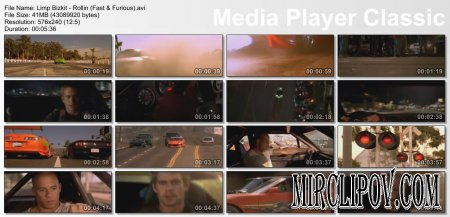 Limp Bizkit - Rollin (Fast And Furious Version)