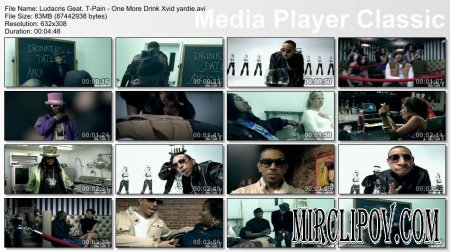 Ludacris Feat. T-Pain - One More Drink